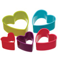 Heart Cookie Cutter Set 5pcs