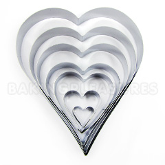 Heart Cutter Set
