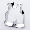 Jumpsuit Stainless Steel Cookie Cutter