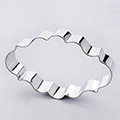 Lace Plaque Stainless Steel Cookie Cutter
