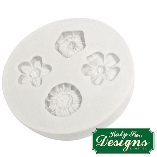 Katy Sue Little Flowers Silicone Mould