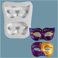 Masquerade Masks Sugarcraft Silicone Mould