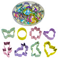 Mini Easter Resin Cookie Cutter Set 8pcs