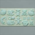 Alphabet Moulds Nursery Silicone Mould