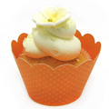 Orange Cupcake Wrapper 12pcs