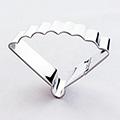 Oriental Fan Plaque Stainless Steel Cookie Cutter