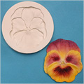 Pansy Sugarcraft Silicone Mould