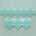 Patterned Border D2 Sugarcraft Silicone Mould
