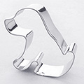 Puppy Dog Stainless Steel Cookie Cutter