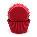 Red Nordic Paper Baking Cups 240pcs