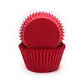 Red Nordic Paper Mini Baking Cups 240pcs