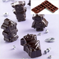 Robot Silicone Chocolate Mould