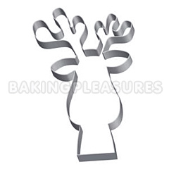 Rudolf Reindeer Cookie Cutter