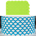 Marvelous Molds Scalloped Lattice Silicone Onlay