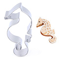 Seahorse Plaque Stainless Steel Cookie Cutter
