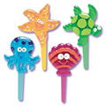 Seashore Jewel Cupcake Picks 12pcs
