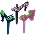 Shoe Jewel Puffy Cupcake Picks 12pcs