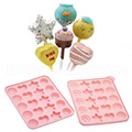 Silicone Assorted Shapes Cake Pop Mould