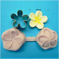 Small Frangipani Cutter & Veiner Set 20mm