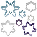 Christmas Snowflake Resin Cookie Cutter Set 7pcs