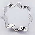 Square Lace Plaque Stainless Steel Cookie Cutter