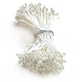 Flower Stamens Pearl White