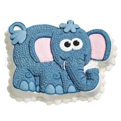 Elephant Cake Pan Instructions