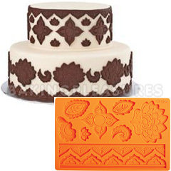 Wilton Fondant And Gum Paste Silicone Mould Global