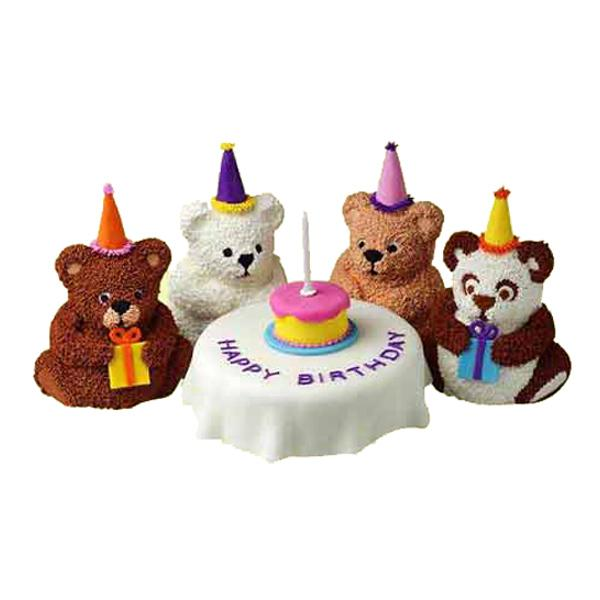 Wilton Mini Stand Up Bear Novelty Cake Pan Tin