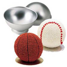 Wilton Sports Ball Cake Tin Pan