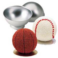 Wilton Sports Ball Cake Tin Pan