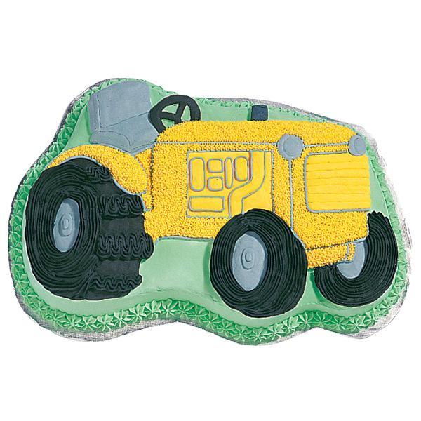 Wilton Tractor Novelty Cake Pan Tin