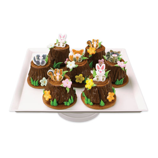 Woodland Animals Cupcake Toppers