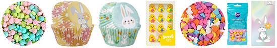 Easter Cake Decorating Goodies